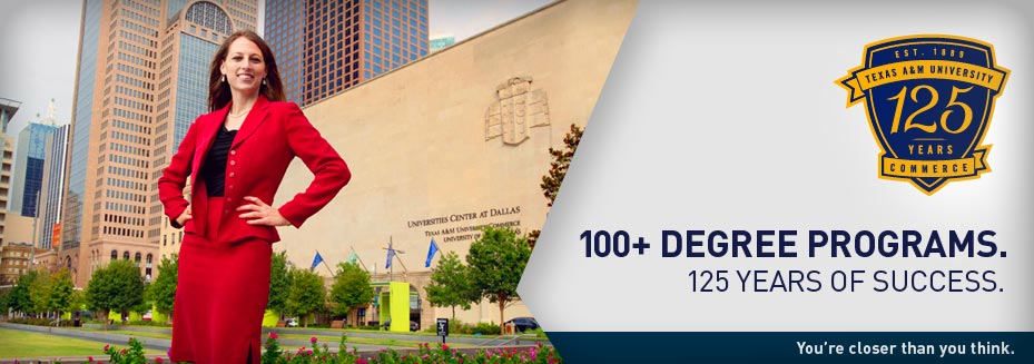 100+ DEGREE PROGRAMS.   125 YEARS OF SUCCESS.