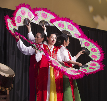 a multicultural festival performance