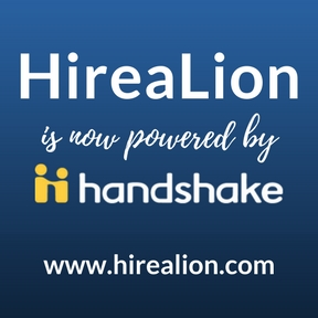HireaLion is now powered by Handshake