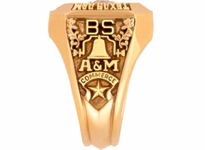 Commerce High School Class Ring
