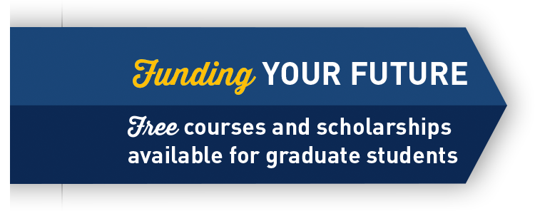 Free courses and scholarships for graduate students