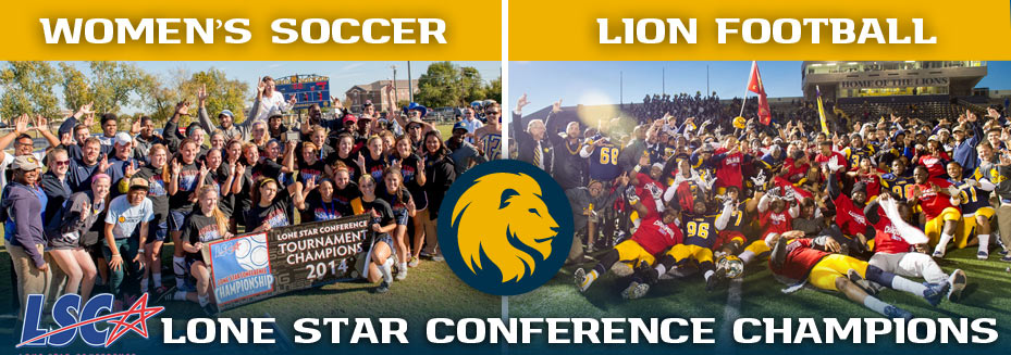 Women's Soccer and Lion football loan star conference champions