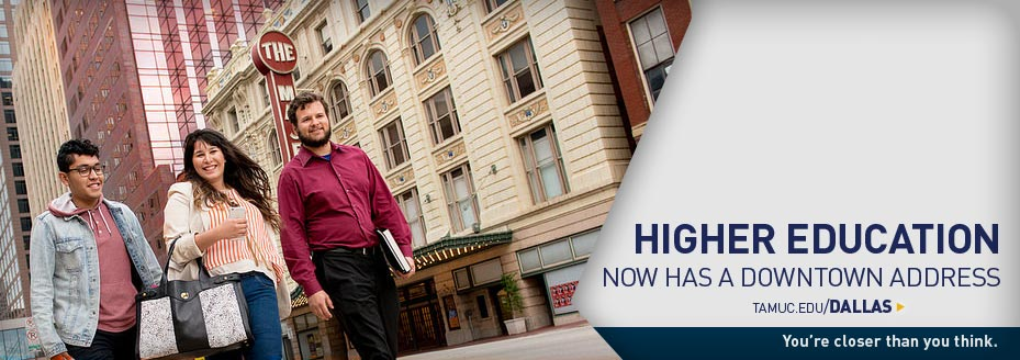 higher education now has a downtown address